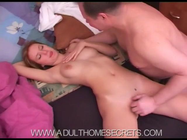 Русский секс с отчимом дома