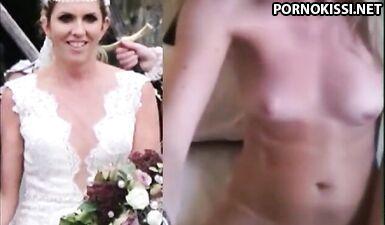 Возбужденная невеста, жаркая подборка