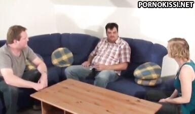 Муж должен денег, а сексуальная жена продает свое тело