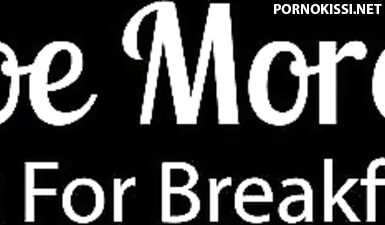Минет и нежный секс вместо завтрака