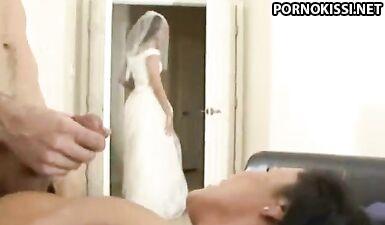 Мать невесты развела будущего зятя на шикарный секс
