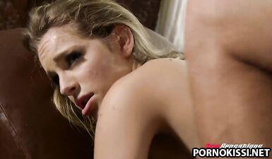Сексвайф захотела жесткого траха с бондажем на глазах у мужа