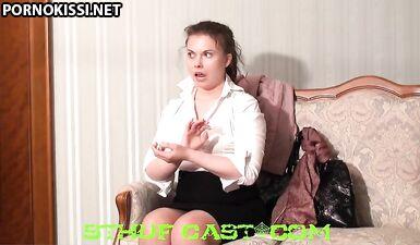 Ирина показала девственную попку на кастинге Вудмана